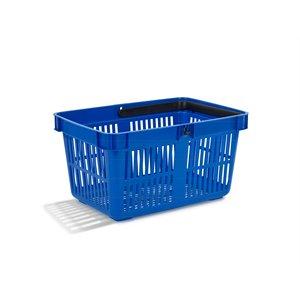 Pirkinių krepšelis mėlynos spalvos 27 L