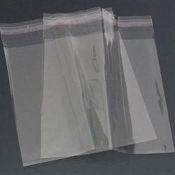 BOPP maišeliai 285x200+30 užklijuojami su lipnia juostele