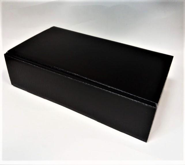 Dovanų dėžutė 360x192x95mm juoda