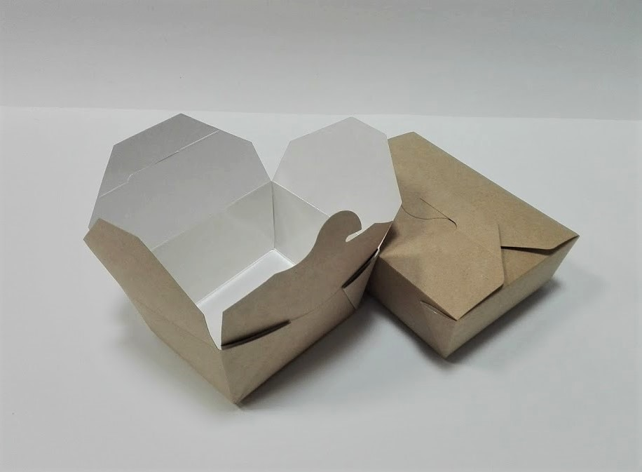 ECO dėžutė 130x105x64mm. Pakuotėje - 10 vnt