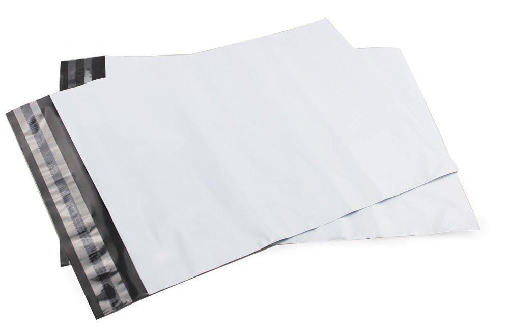 Plastikiniai kurjeriniai vokai su lipnia juostele FB-02 (225x325+50mm), Pakuotėje - 100 Vnt.