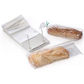 CPP plastikiniai maišeliai 265x320+30 mm