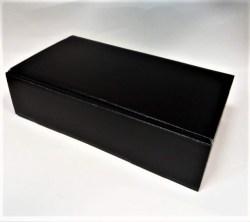 Dovanų dėžutė 360x192x95mm juoda Image 0
