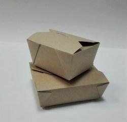 ECO dėžutė 168x132x53mm. Pakuotėje - 10 vnt Image 1