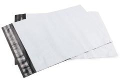 Plastikiniai kurjeriniai vokai su lipnia juostele FB-02 (225x325+50mm), Pakuotėje - 100 Vnt. Image 0