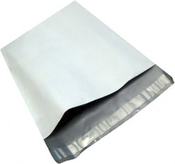 Plastikiniai kurjeriniai vokai su lipnia juostele FB-02 (225x325+50mm), Pakuotėje - 100 Vnt. Image 1